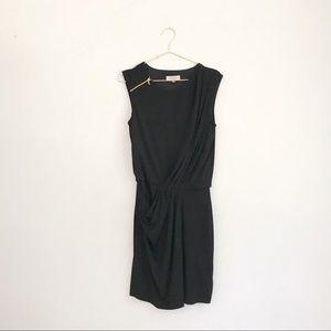 Guess LBD Black Asymmetric Mini Dress